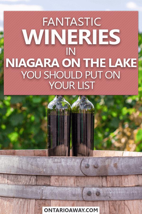 Great wineries in Niagara on the Lake, Ontario, Canada