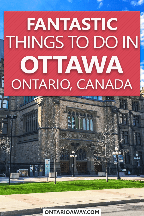 Pin for things to do in Ottawa, Canada