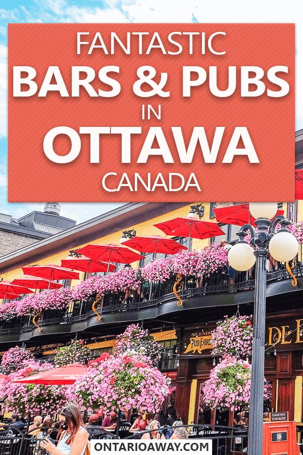 Bars und Pubs in Ottawa Ontario Canada