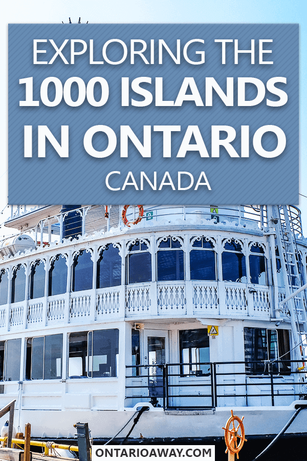 1000 Islands in Ontario Canada
