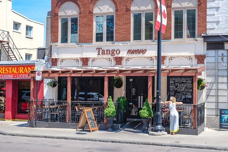 spanish restaurants with red and white patio tango kingston ontario